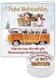 """Lichtgruß """"Frohe Weihnachten"""" (Merry Christmas!)"""