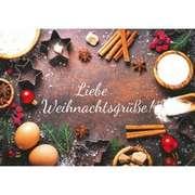Faltkarte - Liebe Weihnachtsgrüße