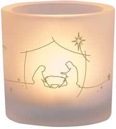 """Windlicht LichtMomente """"Heilige Familie"""""""