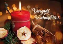 Faltkarte - Gesegnete Weihnachten!