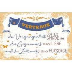 "Postkarten ""Vertraue"" 12er-Serie"