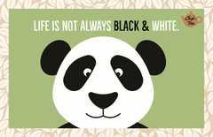 Teekarte - Life is not...