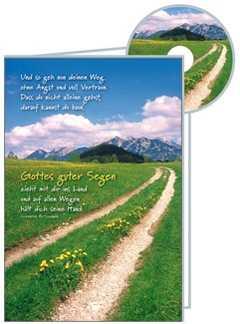 CD-Card: Und so geh nun deinen Weg - neutral