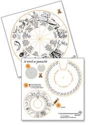 Drehscheibe Psalm 23 - 20cm Durchmesser (10er Paket)