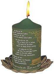 Kerze 'Zeit zum Leben'