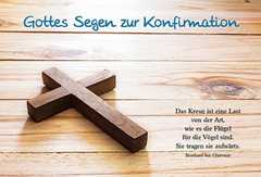 Faltkarte: Das Kreuz - Konfirmation