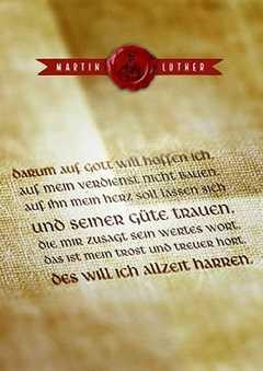Postkarten: Darum auf Gott - 12 Stück