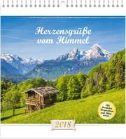 Herzensgrüße vom Himmel 2018 - Wandkalender